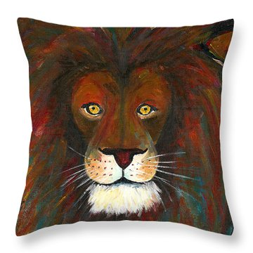 The Good And Terrible King Throw Pillow