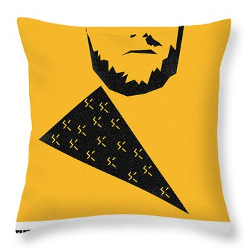 The Good Bad Ugly Clint Eastwood Poster Throw Pillow