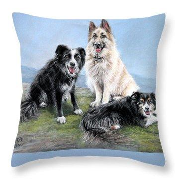 The Good Companions Throw Pillow