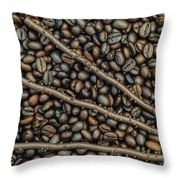 Throw Pillow featuring the photograph The Good Life 1 by Werner Padarin