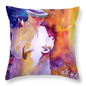 The Good Saint Throw Pillow