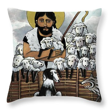 The Good Shepherd - Mmgoh Throw Pillow