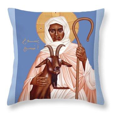 The Good Shepherd - Rlgos Throw Pillow