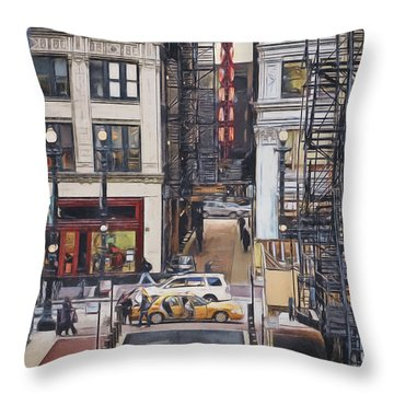The Goodman From The Platform Throw Pillow