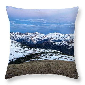 The Gore Range At Sunrise - Rocky Mountain National Park Throw Pillow