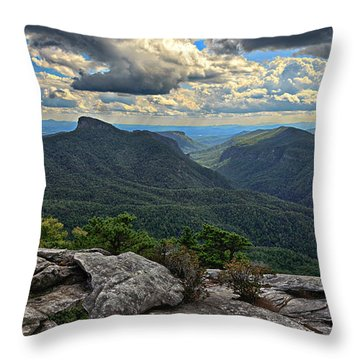 The Gorge Throw Pillow