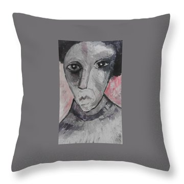 The Gothic Poet Throw Pillow