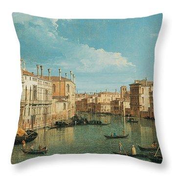 Venice Art Throw Pillows