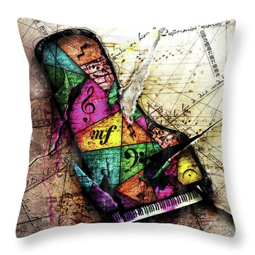 The Grand Illusion  Throw Pillow by Gary Bodnar