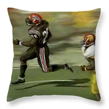 The Grand Marshall Throw Pillow