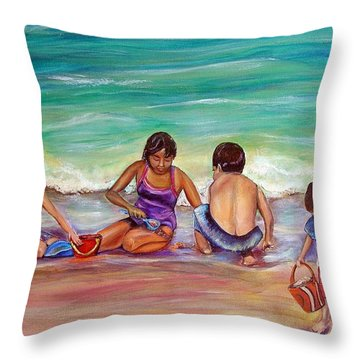 The Grands Throw Pillow by Patricia Piffath