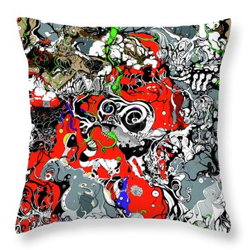 The Grapevine Wall Section 1 Throw Pillow