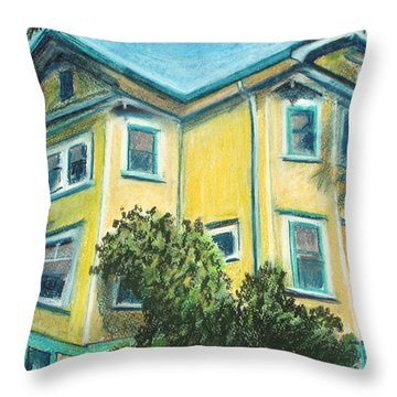 The Grateful Bed Throw Pillow