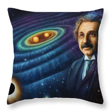 The Gravity Of Thought Throw Pillow