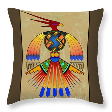 The Great Bird Spirit Throw Pillow