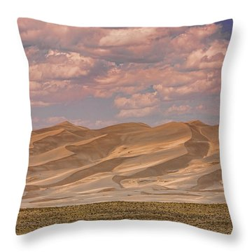 The Great Colorado Sand Dunes  177 Throw Pillow by James BO  Insogna