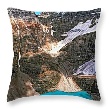 The Great Divide Throw Pillow by Steve Harrington