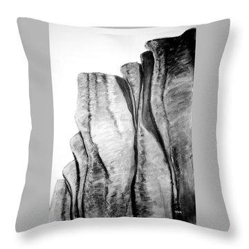 The Great Escarpment  -  Australia Throw Pillow
