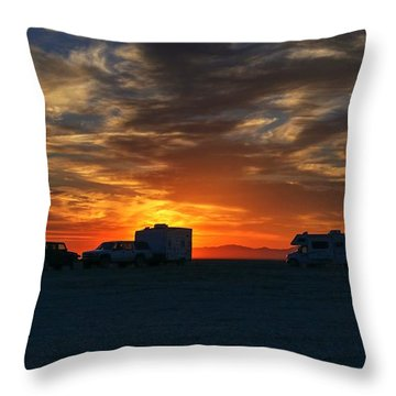 The Great Gig In The Sky Throw Pillow