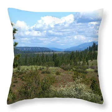 Throw Pillow featuring the photograph The Great Northwest by Ben Upham III
