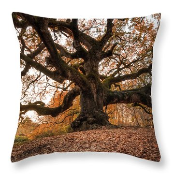 The Great Oak Throw Pillow