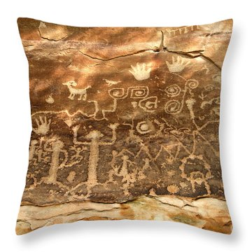 The Great Panel Throw Pillow by David Lee Thompson