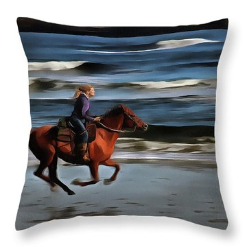 The  Greatest Of Pleasures Throw Pillow