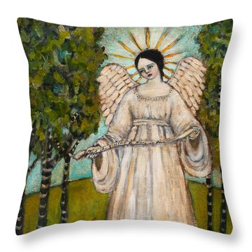 The Greatest Of These Is Love Throw Pillow by Jane Spakowsky