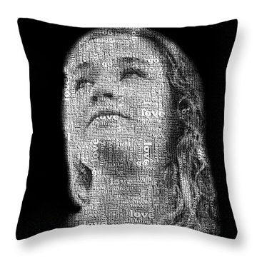 Throw Pillow featuring the photograph The Greatest Story Never Told by Ryan Smith