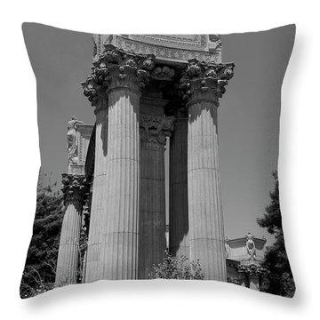 The Greek Architecture Throw Pillow
