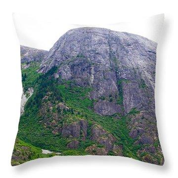The Greene Hills In Alaska Throw Pillow