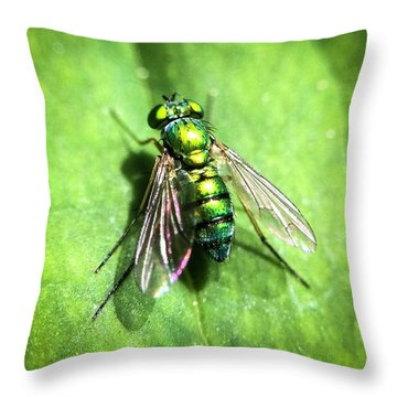 The Greenest Throw Pillow
