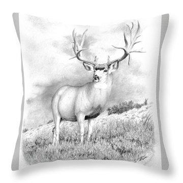 The Greenwood Buck Throw Pillow