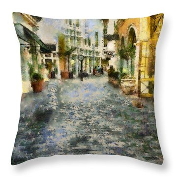The Grove L A Throw Pillow