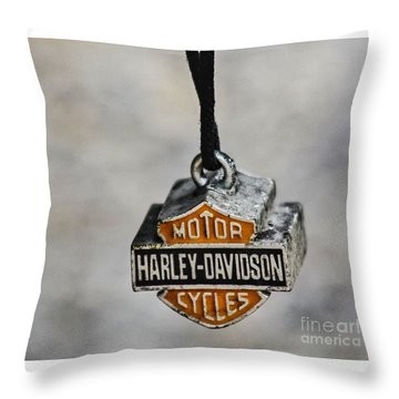 The Guardian Bell Throw Pillow