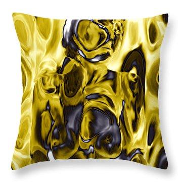 The Guardian Throw Pillow by Kurt Van Wagner