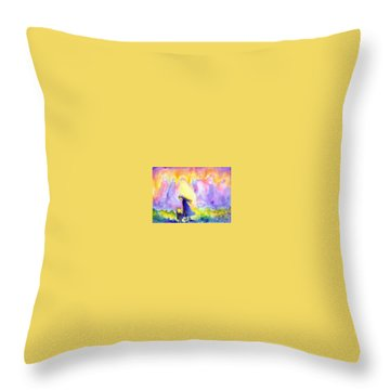 The Guardians Throw Pillow