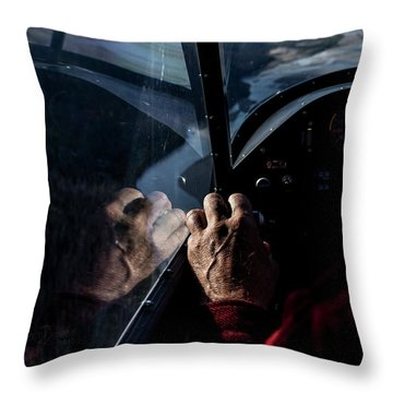 The Guiding Hand Throw Pillow