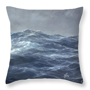 The Gull's Way Throw Pillow by Richard Willis