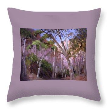 The Gum Grove Catalina Throw Pillow