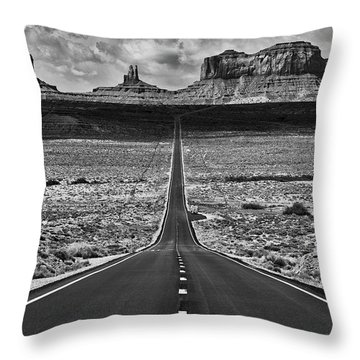 The Gump Stops Here Throw Pillow by Darren White