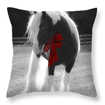 The Gypsy Gift Throw Pillow