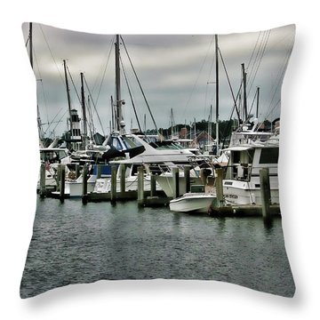 The Habor Throw Pillow