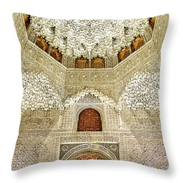 The Hall Of The Arabian Nights 2 Throw Pillow