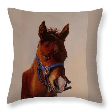 The Halter Throw Pillow