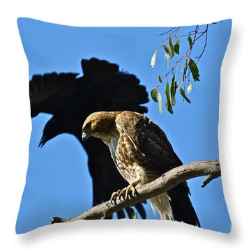 The Harasser Throw Pillow