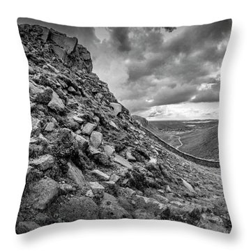 The Hare's Gap Throw Pillow