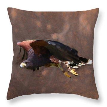 The Harris Hunter Throw Pillow