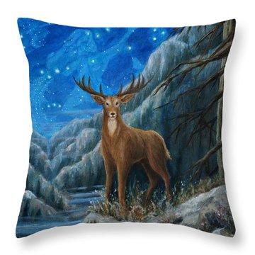 the Hart Throw Pillow