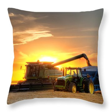 Farmer Throw Pillows